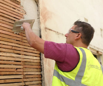 Lath and Lime Rendering